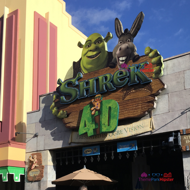 Shrek 4D Universal Studios Photos Orlando Tips