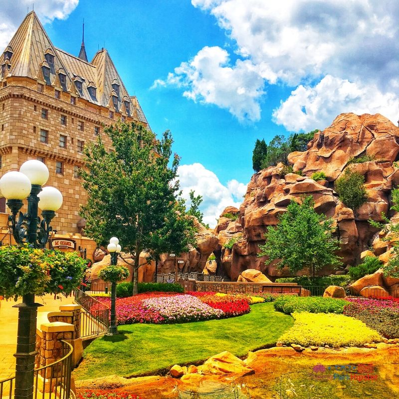 Canada Victoria Gardens at Epcot in Walt Disney World