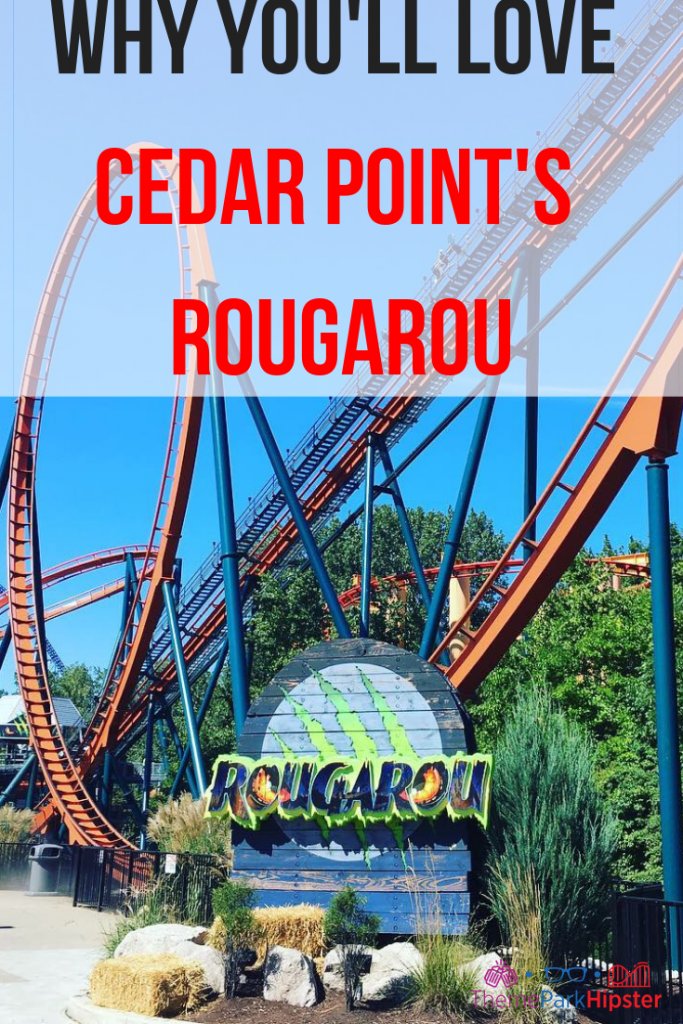 Rougarou Cedar Point Roller Coaster #cedarpoint #themepark