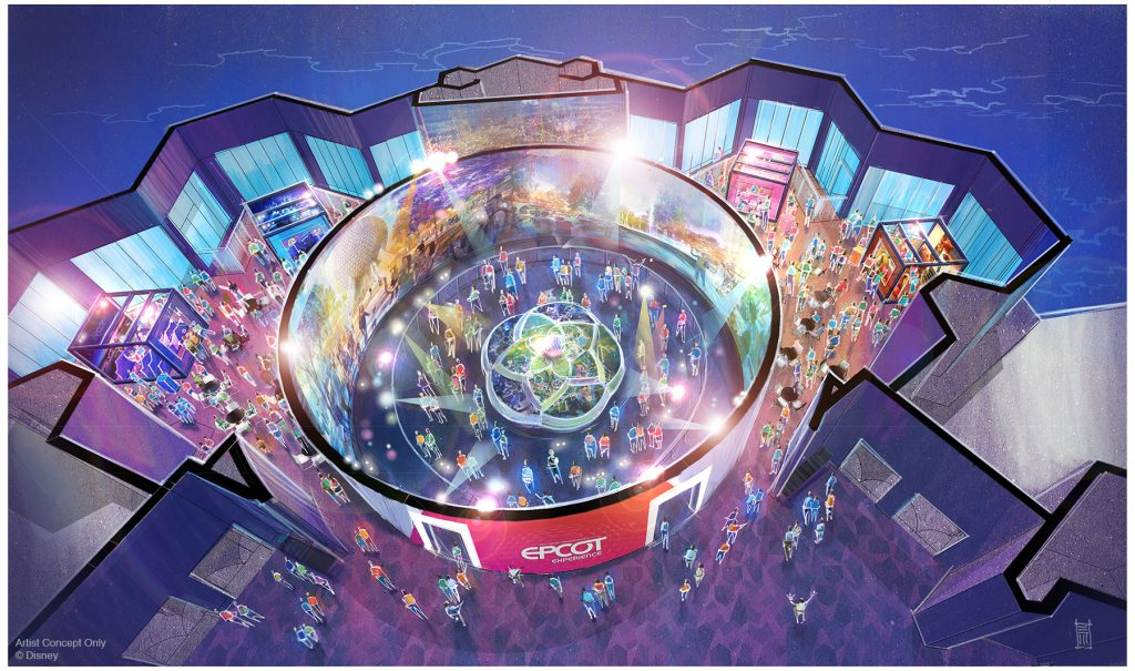 Walt Disney Imagineering presents the Epcot Experience Epcot Renovations
