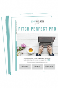 Pitch Perfect Pro Checklist