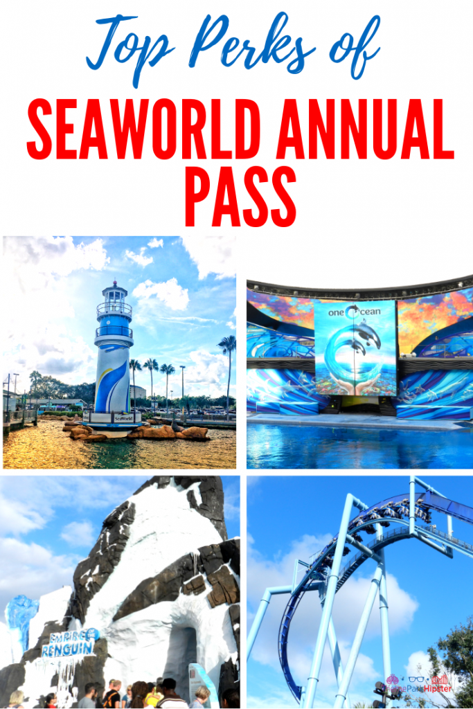 SeaWorld Annual Pass Perks and Benefits