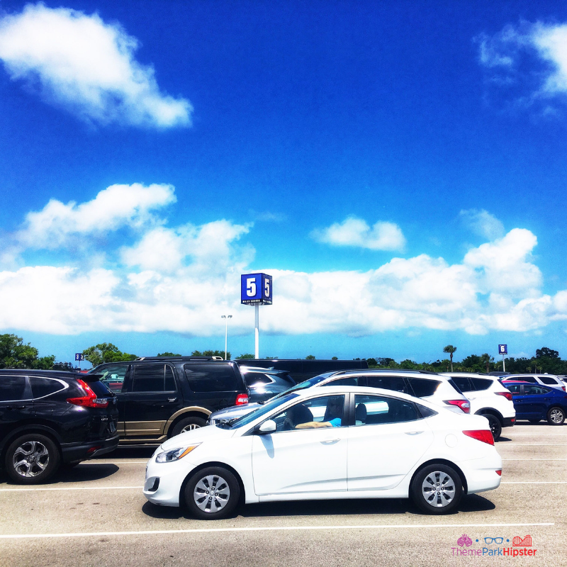 Kennedy Space Center Parking Lot