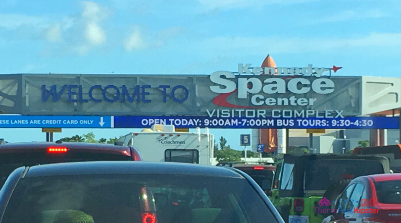 Kennedy Space Center Parking Gate