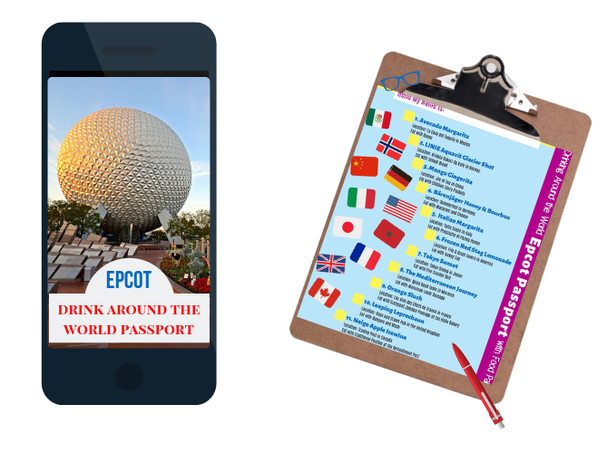 Drinking Around the World Epcot Passport