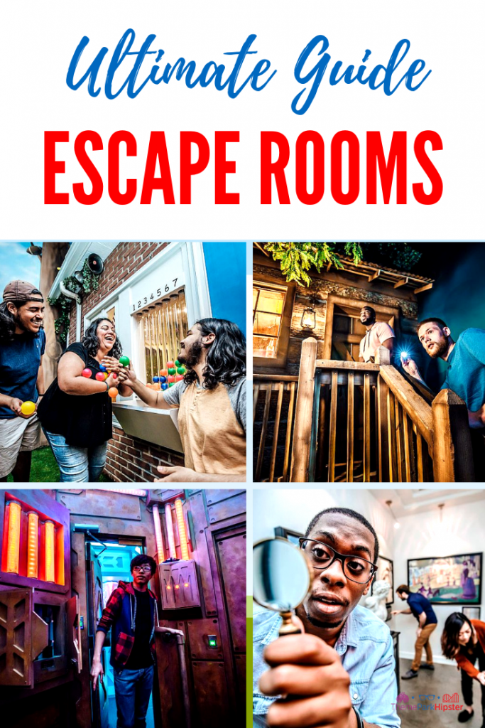 The Escape Rooms in Orlando with heist and people searching for gold.