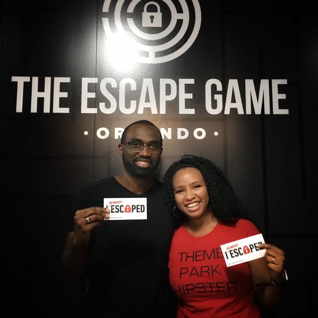 Escape game with ThemeParkHipster