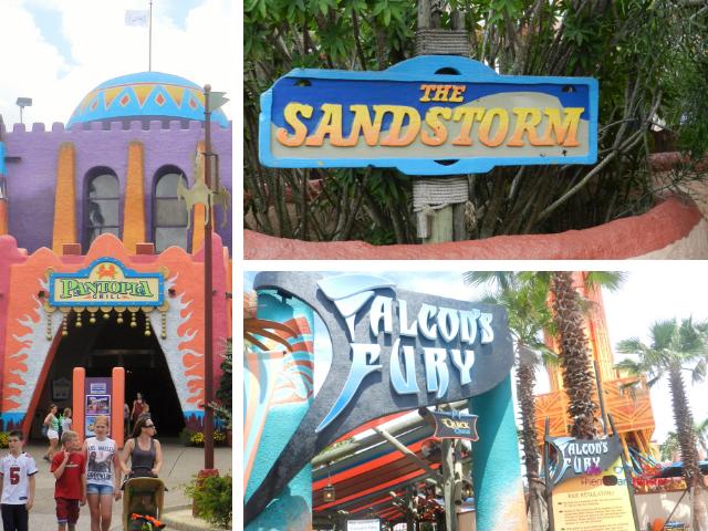 Falcons Fury Pantopia SandStorm Busch Gardens