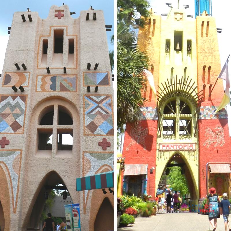 Pantopia Entrance Busch Gardens