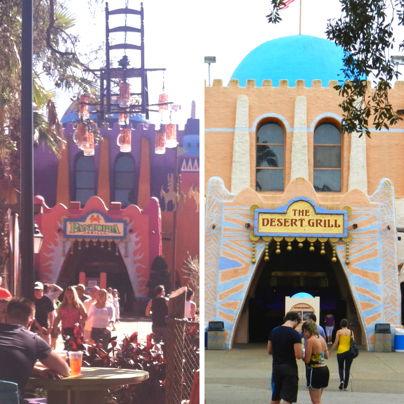 Pantopia and Dessert Grill at Busch Gardens Tampa