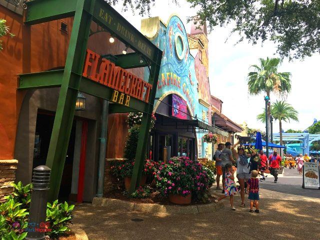 SeaWorld Orlando Flame Craft Bar