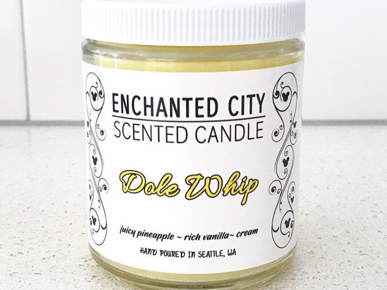 Dole Whip Merchandise Candle
