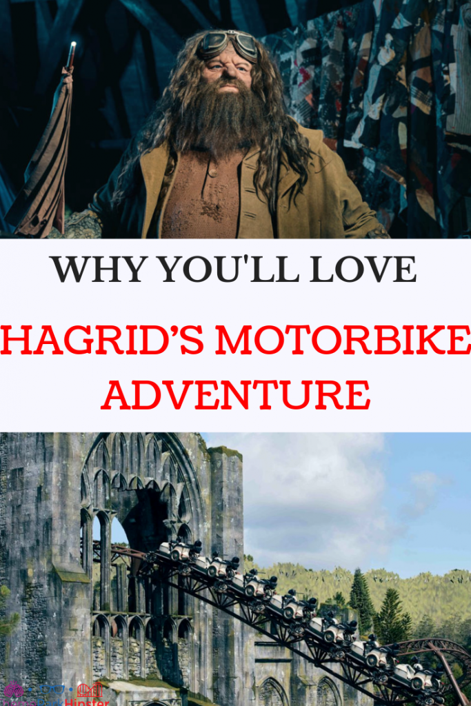 Hagrid's motorbike adventure roller coaster Universal Orlando Wizarding World of Harry Potter