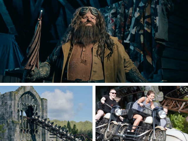 Hagrid motorbike roller coaster Universal Orlando Wizarding World of Harry Potter