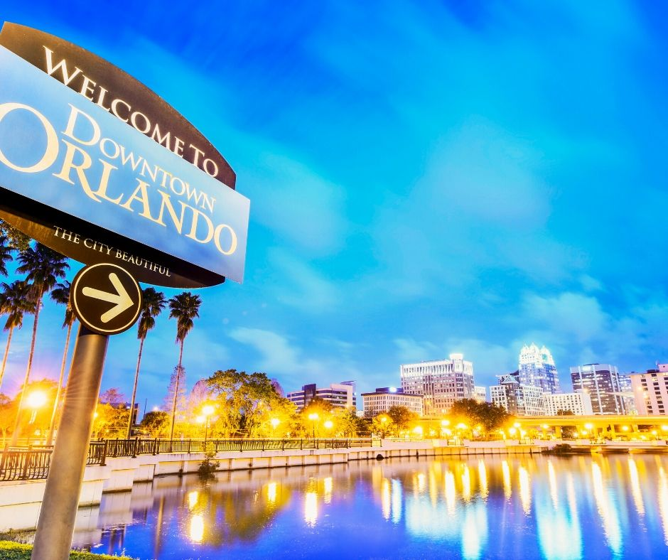 Orlando Downtown Skyline Photo