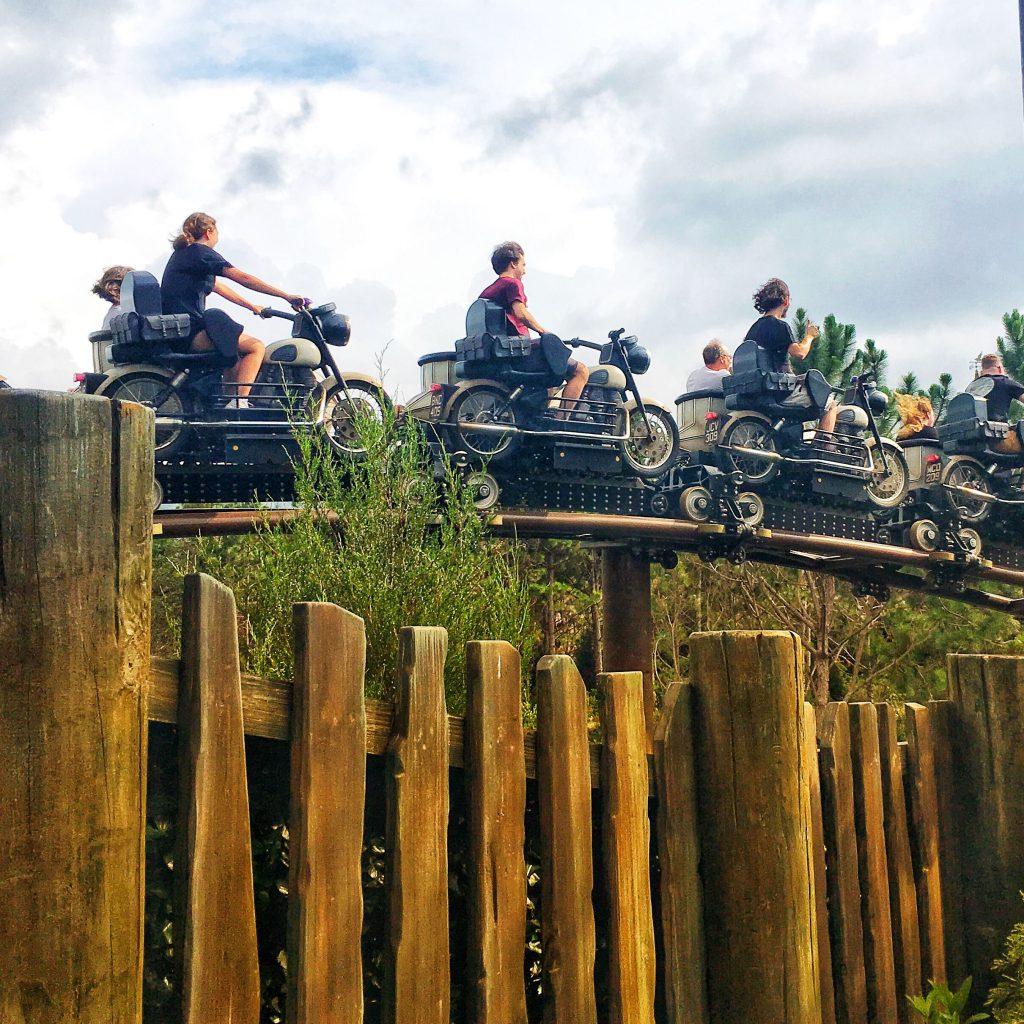 Sirius Motorbike Hagrid Roller Coaster