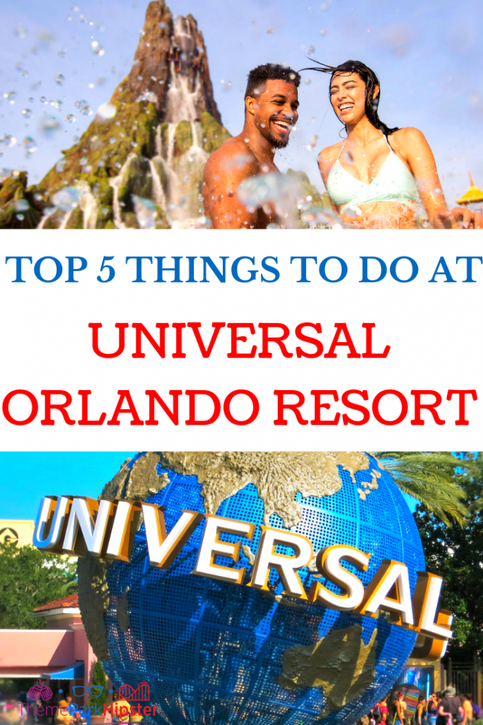 Things to do at Universal Orlando. Couples splash in the water at Volcano Bay