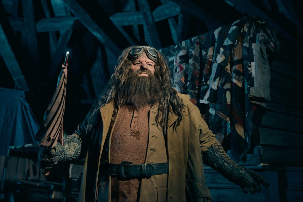 Universal Orlando Resort has created its most life-like animated figure for the most highly themed, immersive coaster experience yet, Hagrid's Magical Creatures Motorbike Adventure – opening June 13. And it's none other than Hogwarts gamekeeper and Care of Magical Creatures professor himself – Hagrid.