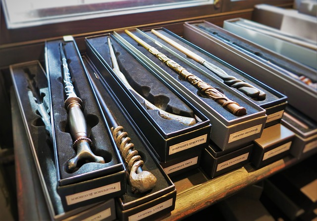 Wizarding World of Harry Potter Wands at Ollivanders