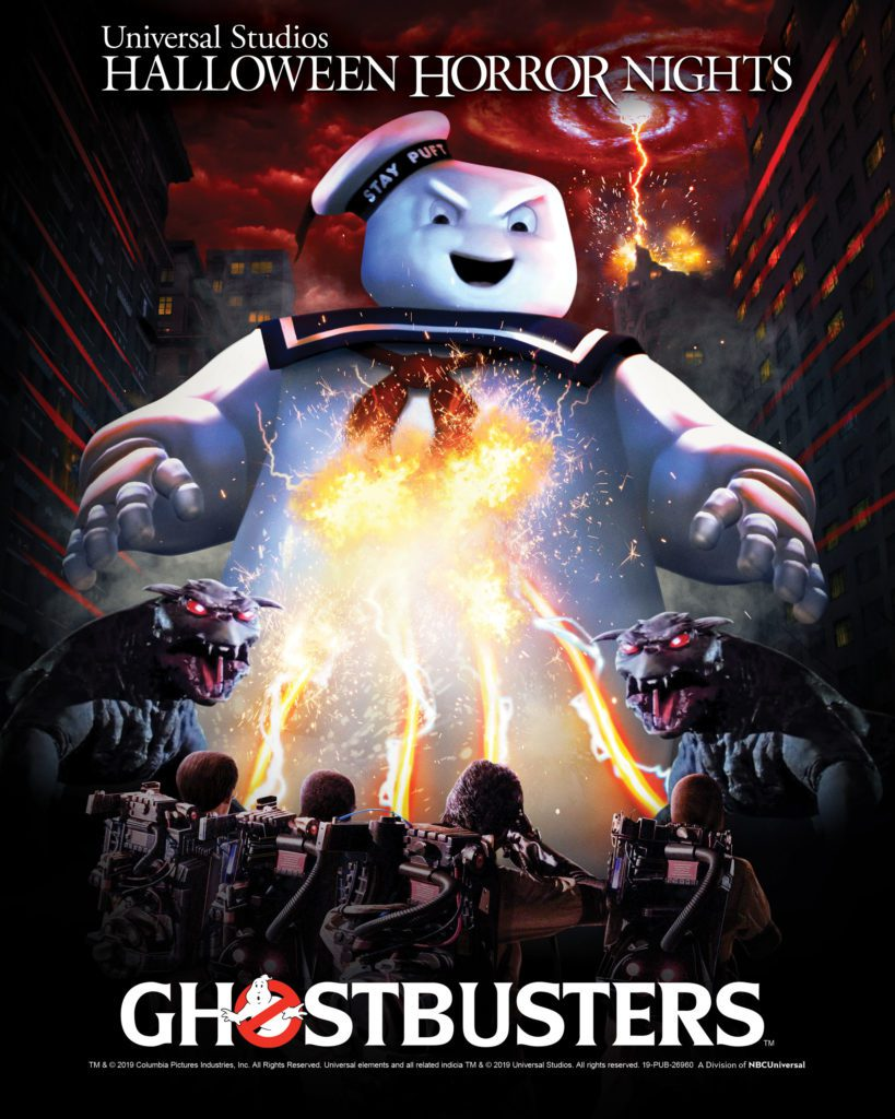 """UNIVERSAL STUDIOS WELCOMES GHOSTBUSTERS FOR THE FIRST TIME EVER TO """"HALLOWEEN HORROR NIGHTS"""" IN ALL-NEW MAZES"""