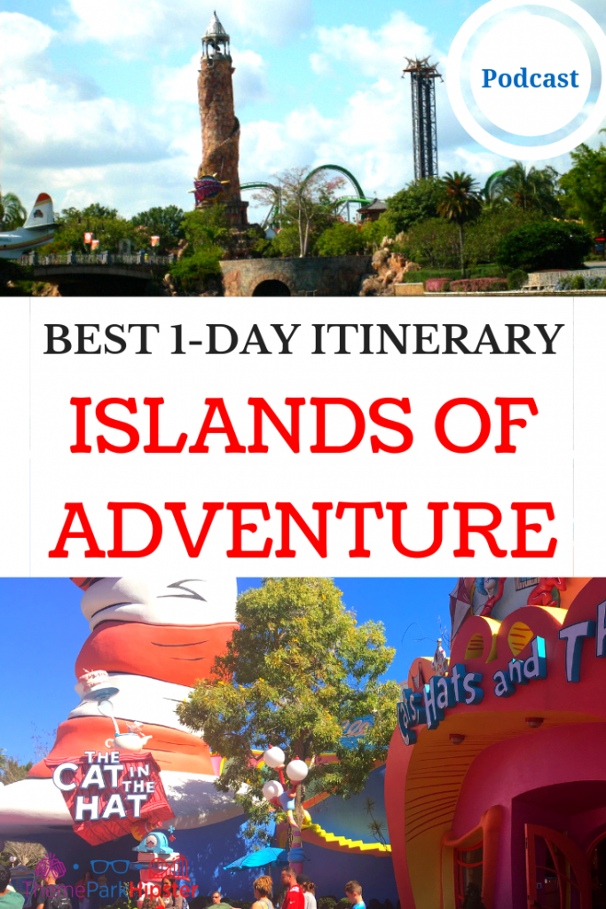 ISLANDS OF ADVENTURE ITINERARY