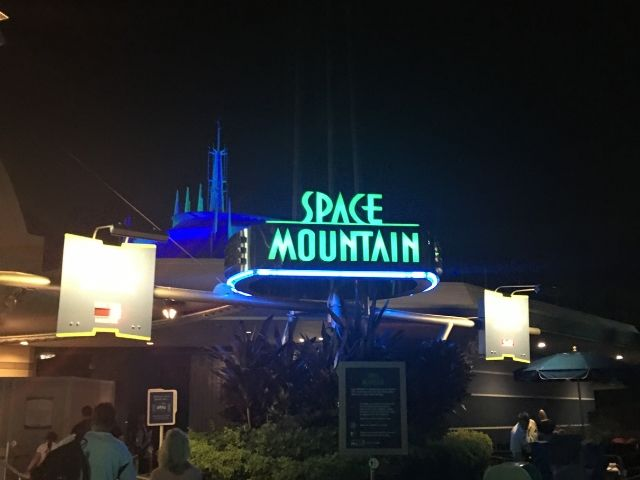 Mickeys Halloween Party Space Mountain