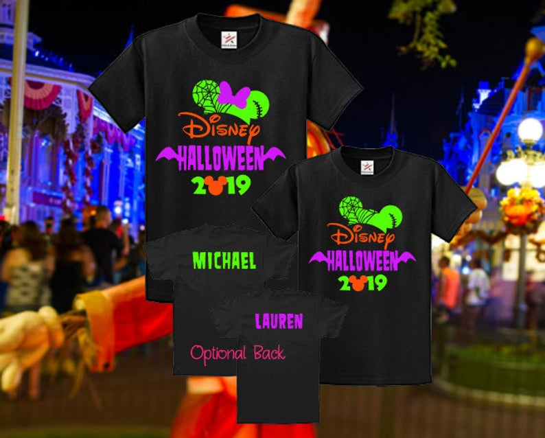 Mickey's Not So Scary Halloween Party Merchandise Shirts