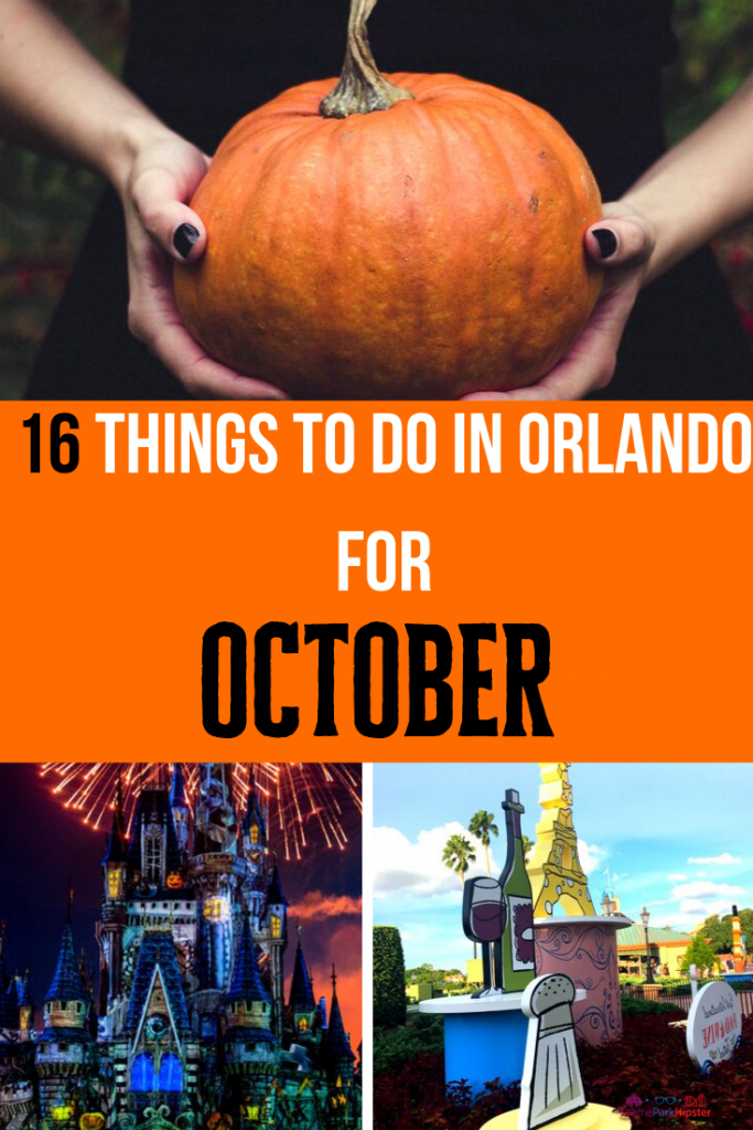 16 things to do in Orlando for October Halloween Season