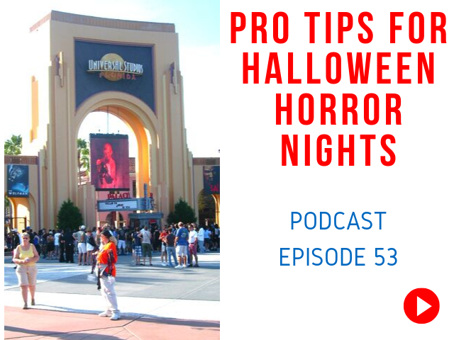 Halloween Horror Nights Passholder Tickets and Tips