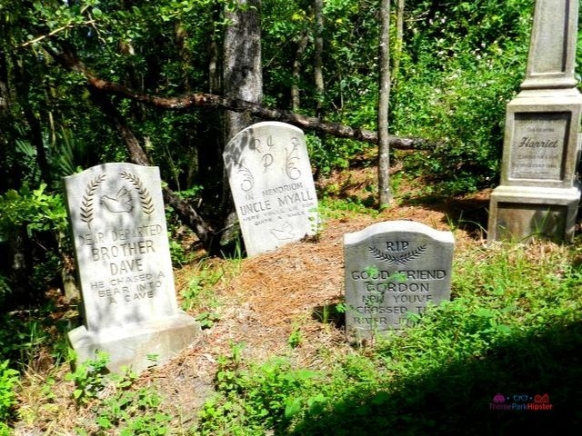 Haunted Mansion Tombstones