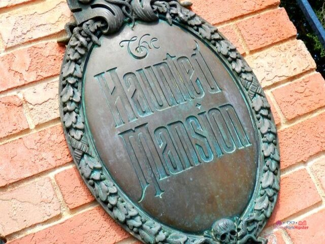 Haunted Mansion Sign and Logo