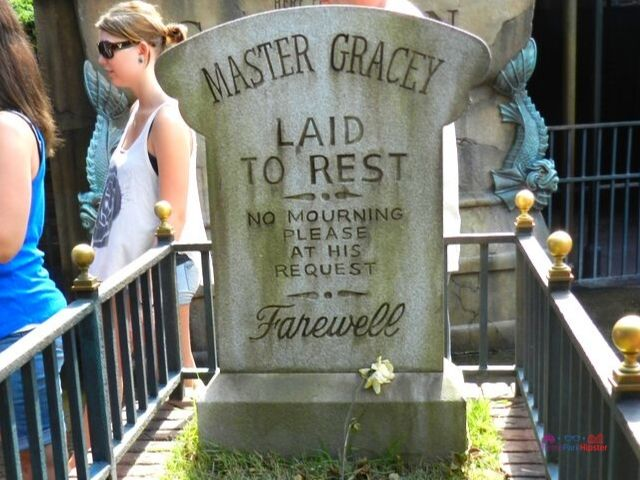 Haunted Mansion Master Gracey Tombstone