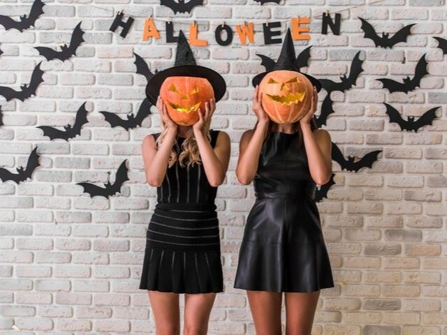 Things to Do in Orlando for October Women in Halloween Costume