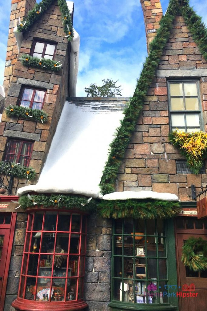 Christmas at Universal Harry Potter Christmas Hogsmeade