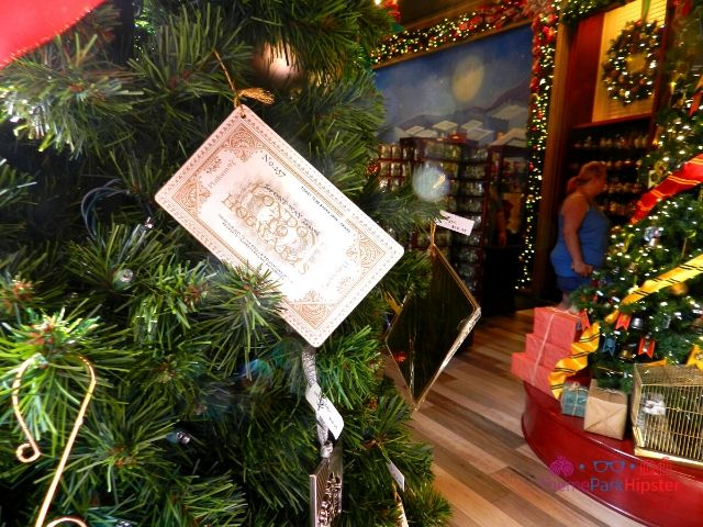 Christmas at Universal Harry Potter Christmas Ornaments Merchandise