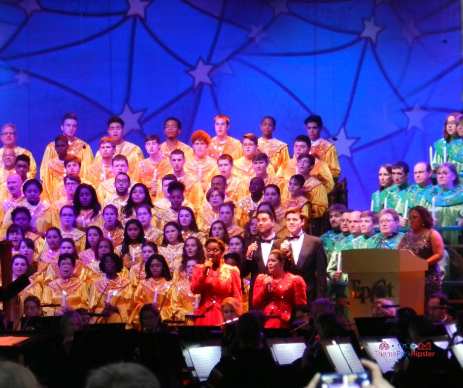 Epcot Candlelight Processional 1 Chandra Wilson of Greys Anatomy
