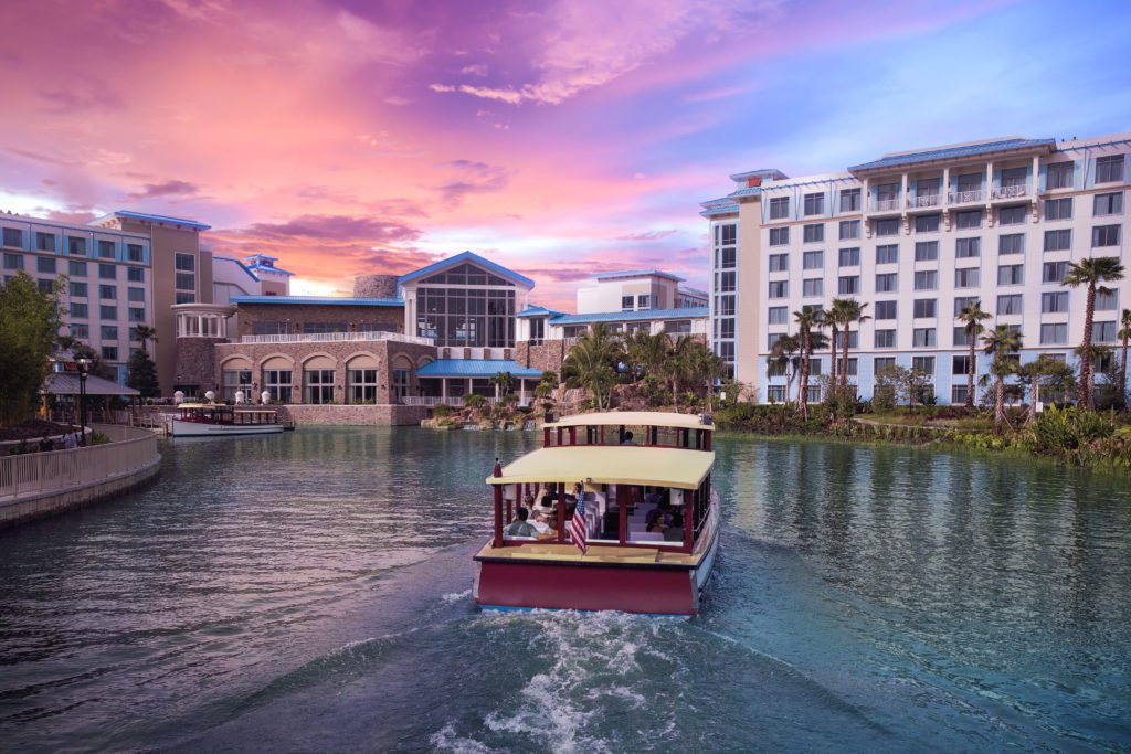 Loews Sapphire Falls Water Taxi