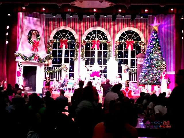 Christmas Town Village at Busch Gardens Holiday Show