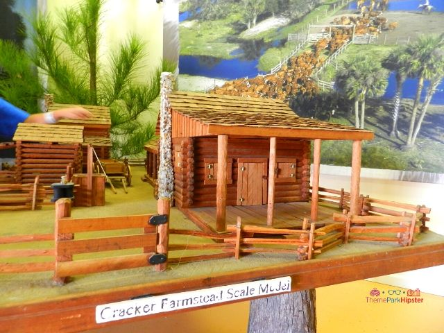 Discovery Center Cracker Farmhouse Scale Model in Tampa Carnival