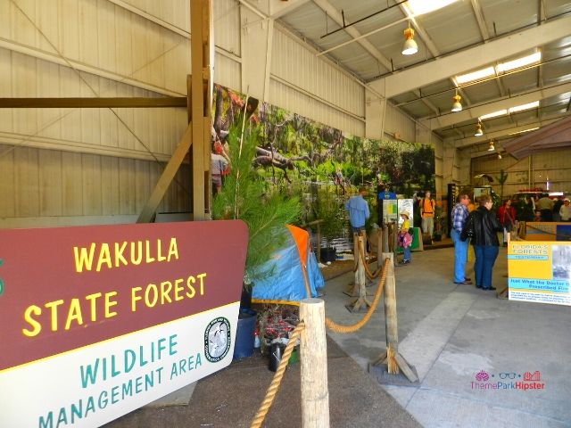 Florida State Fair Florida Forest Discovery Center Wakulla State Forest Display