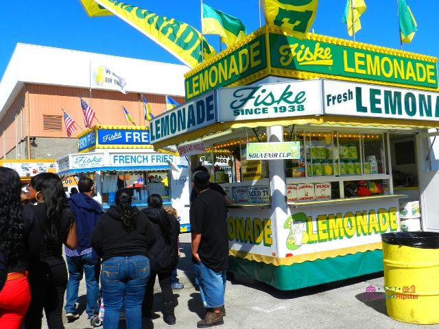 Florida State Fair Food Fiske Lemonade Kiosk