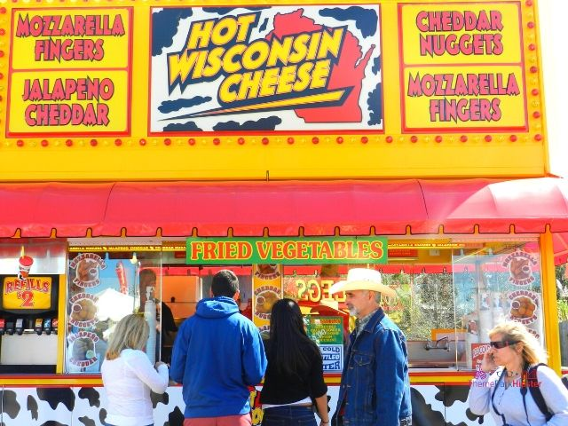Florida State Fair Food Wisconsin Cheese Kiosk