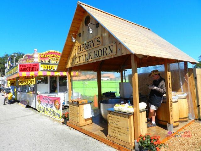 Florida State Fair Henry's Kettle Korn Kiosks