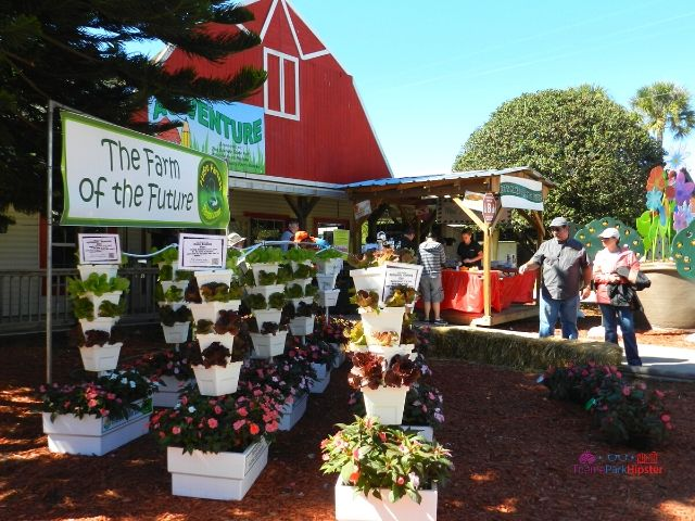 Florida State Fair Hydroponics Gardening with Red Barn House for the Ag Venture Education