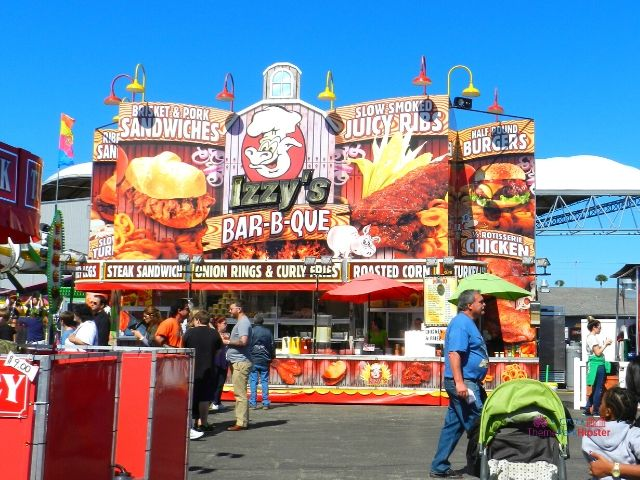 Florida State Fair Izzy's Barbecue