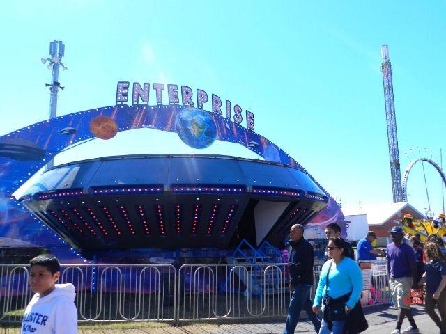Florida State Fair Silver Enterprise Centrifuge Ride