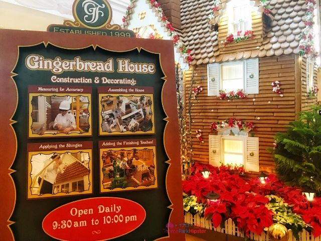 Grand Floridian Gingerbread House Construction and Decorating