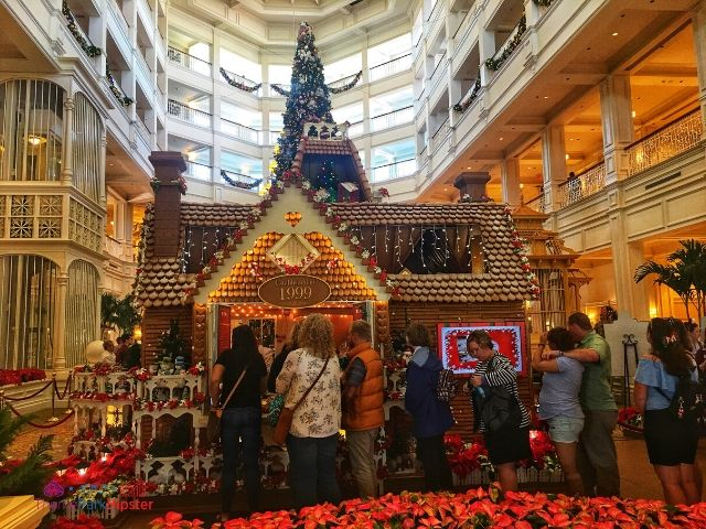 Grand Floridian Gingerbread House at Walt Disney World. Disney monorail resorts to stay at.
