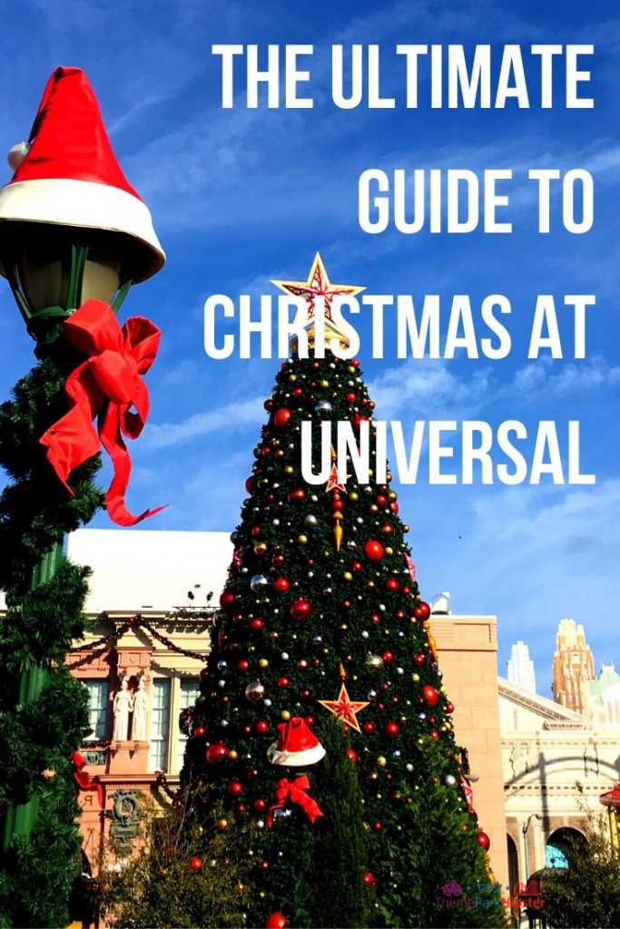 Guide to Christmas at Universal Orlando Florida in Central Park