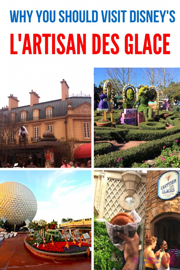 L'Artisan des Glace France Pavilion Epcot Ice Cream Shop